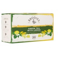 Τσάϊ Brodies Green Tea with Lemon (20 τμχ)