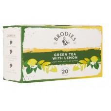 Τσάϊ Brodies Green Tea with Lemon (20 τμχ)
