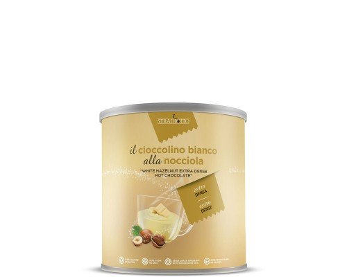 Σοκολάτα Stradiotto Λευκή με Φουντούκια 500gr