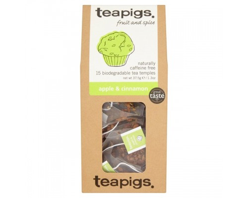Τσάι Teapigs Apple & Cinnamon (15 τμχ)