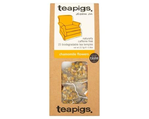 Τσαϊ Teapigs Chamomile Flowers (15 τμχ)