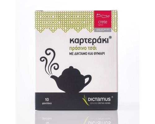 Τσάι Πράσινο με Δίκταμο & Θυμάρι (10τμχ)