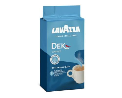 Καφές Espresso Lavazza Decaffeinato Αλεσμένος 250gr