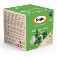 Κάψουλες Bristot Bio Organic Tύπου Nespresso (10 τμχ)